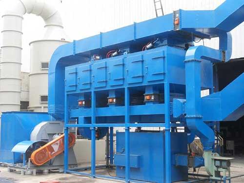 创捷蓄热式催化净化装置(RCO)