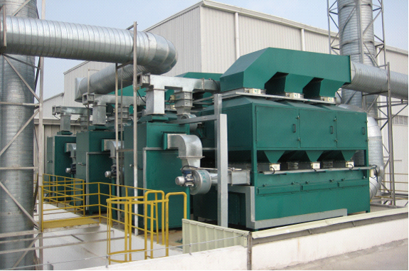 创捷活性炭吸附脱附•催化燃烧装置